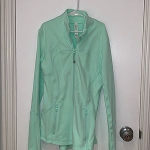 blue/green lululemon define jacket